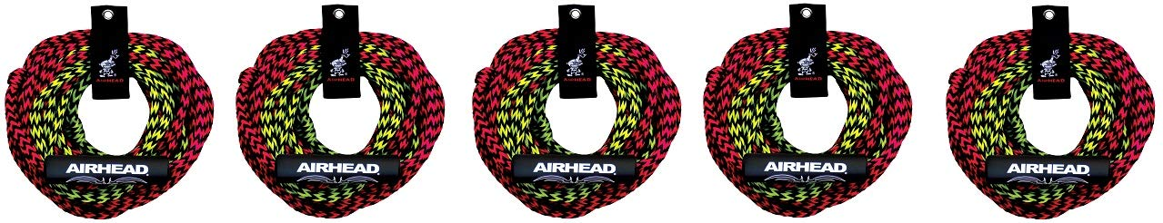 Airhead 2 Rider Tube Rope, 2 Sect, Float (5-(Pack)) by Airhead (Image #1)
