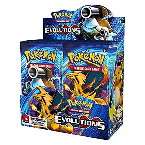 Pokemon Evolutions Factory Sealed Booster product image