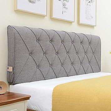 Amazon.com: Guouwei - Cojín para cabecero de cama, tapizado ...