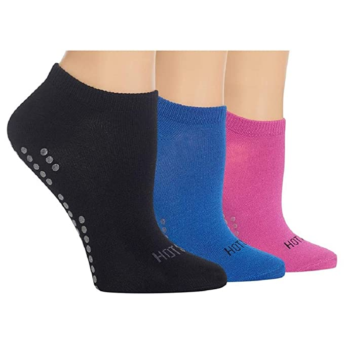Yoga Non-Skid Socks 3-Pack