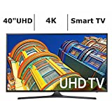 Samsung UN40KU6290 40-Inch 4K 120Hz Ultra HD Smart LED TV (Certified