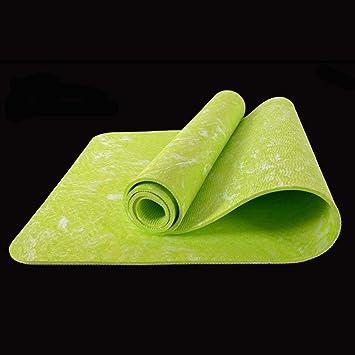 b8b698d9d1e HZJ Caoutchouc Naturel Non-DéRapant Tapis De Yoga Couverture De Fitness Mat Eco  Friendly Non