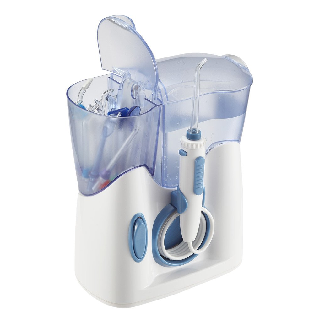 Hofloss® Irrigador Oral Quiet Design menos de db con Puntas de WaterJet