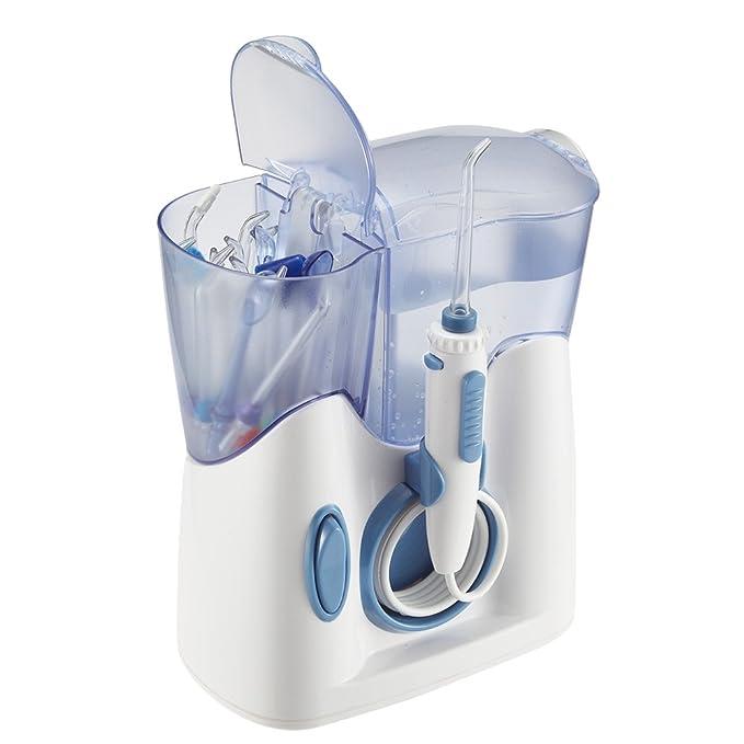 150 opinioni per H2ofloss® Idropulsore Dentale Design Silenzioso (meno di 50dB) Irrigatore Orale