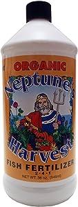 Neptune's Harvest Organic Fish Fertilizer 36-Oz Bottle