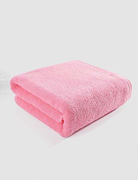 Toalla de algodón simple Absorbente Toallas suaves grandes Toalla grande de los amantes adultos de los
