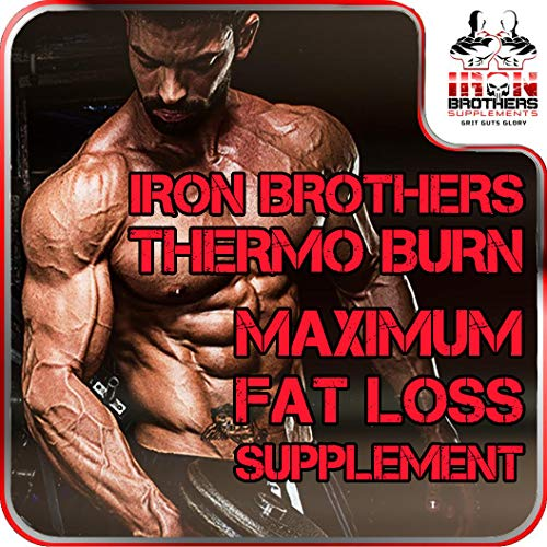 Thermogenic Fat Burners for Men/Women - Hardcore Weight Loss Pills - Appetite Suppressant- Premium Metabolism/Energy Booster – 60 Gel Capsules - Keto Friendly - Iron Brothers Thermo Burn by Iron Brothers Supplements (Image #4)