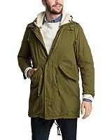 Esprit Men's 094EE2G015 Parka Long Sleeve Coat