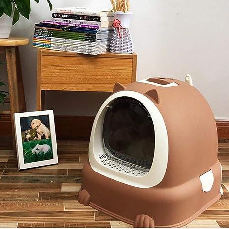 Shsi D-Arenero para Gatos   Caja De Aseo para Mascotas ...