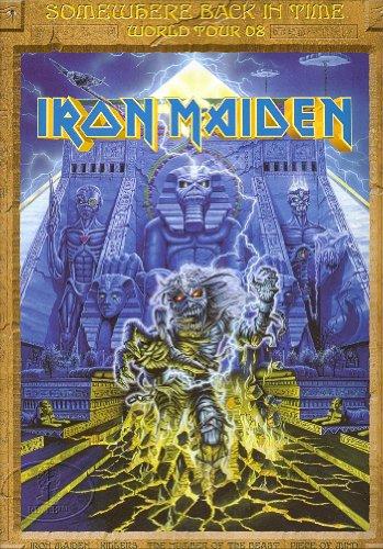 Iron Maiden 2008 Tour Concert Program Poster Programme Book