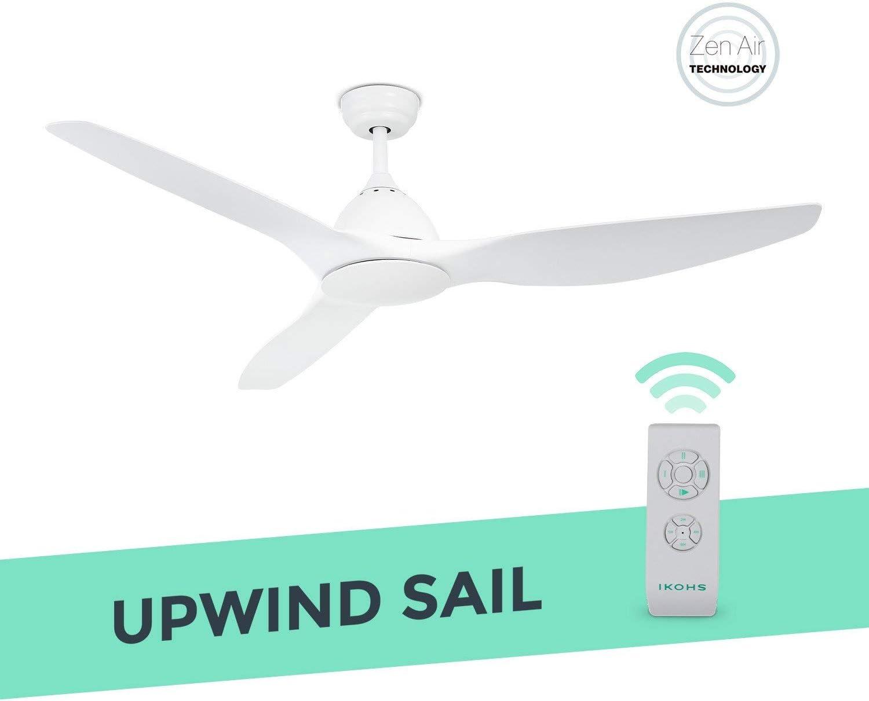 IKOHS UPWIND Sail - Ventilador de Techo con Mando a Distancia, 3 ...