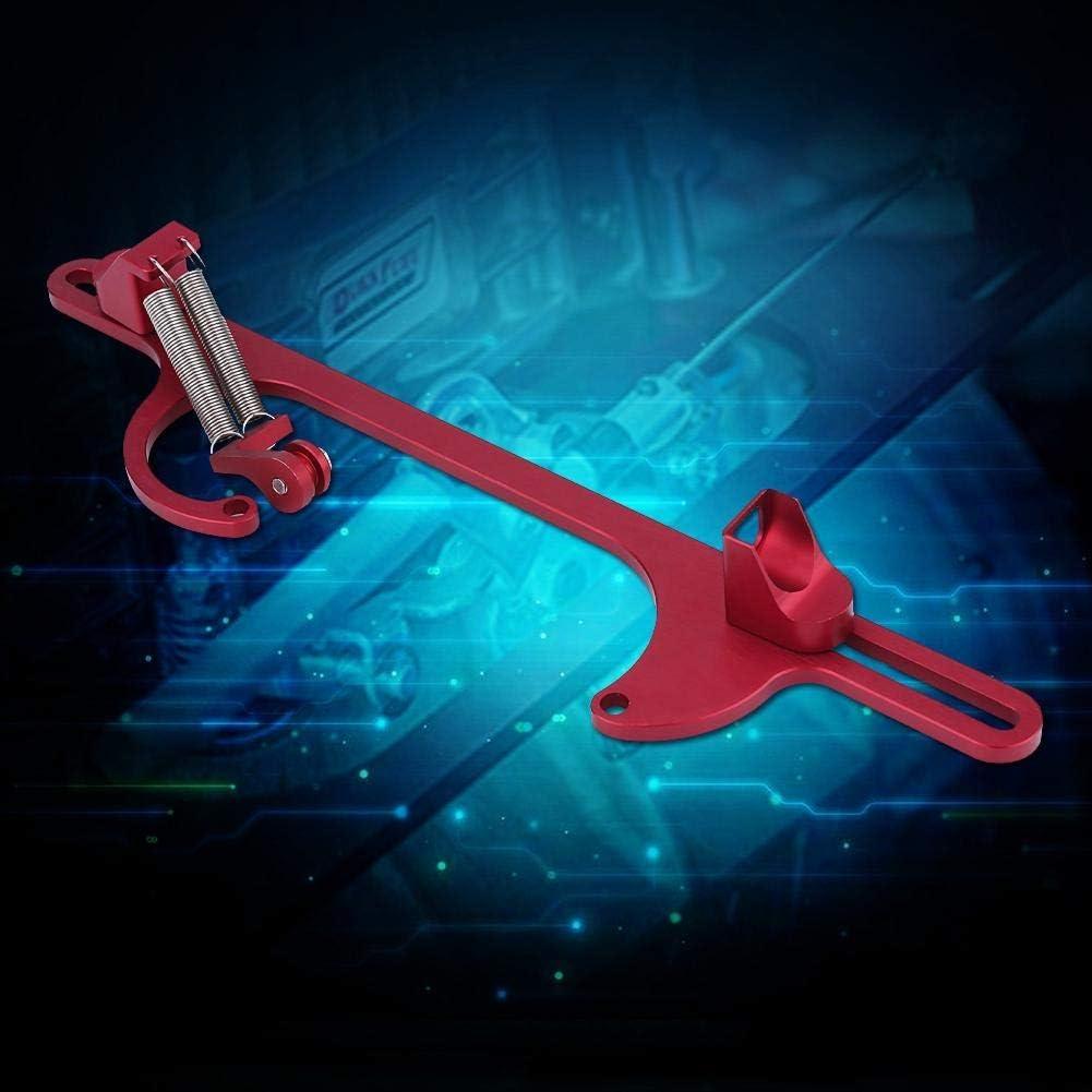 KIMISS Billet Aluminum Throttle Cable Carburetor Bracket for Holley 4150 /& 4160 Series Carburetor blue