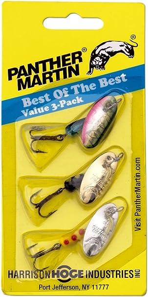 Pantera Martin lo Mejor de la Mejor Bass Spinner señuelo de Pesca Kit, Pack de 3: Amazon.es: Deportes y aire libre
