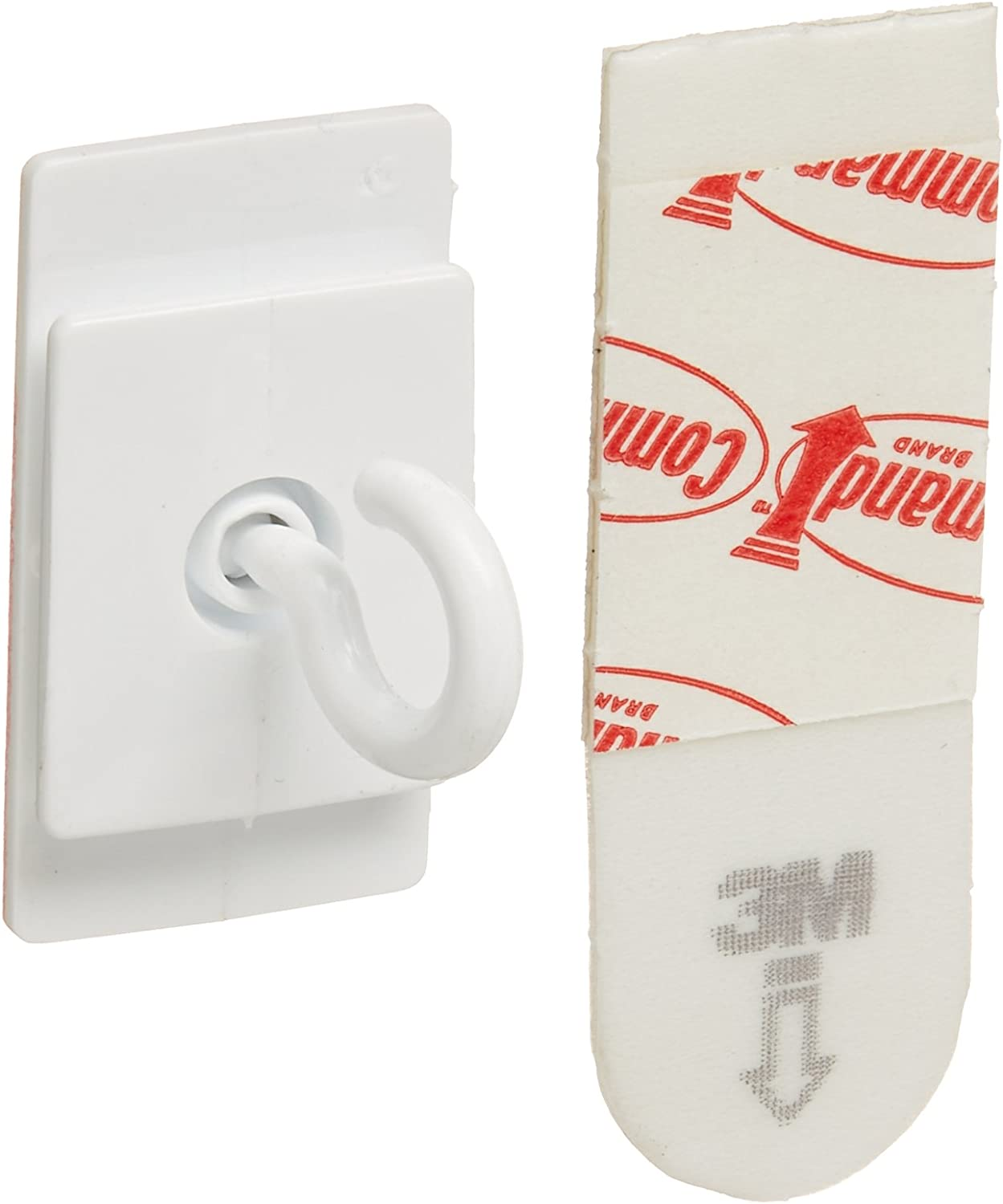 3M Company 3CT Command Ceiling Hooks, 1, Plain