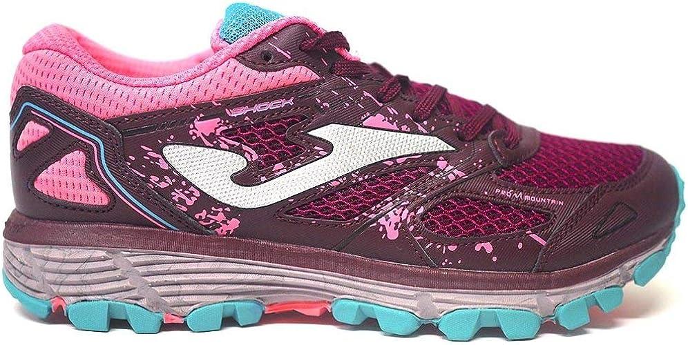 Zapatillas Deportivas para Mujer Joma Shock Lady 2020 Vino-Rosa: Amazon.es: Zapatos y complementos