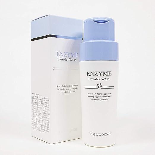 Amazon.com: tosowoong enzima Powder Wash 70 g Pore Limpieza ...