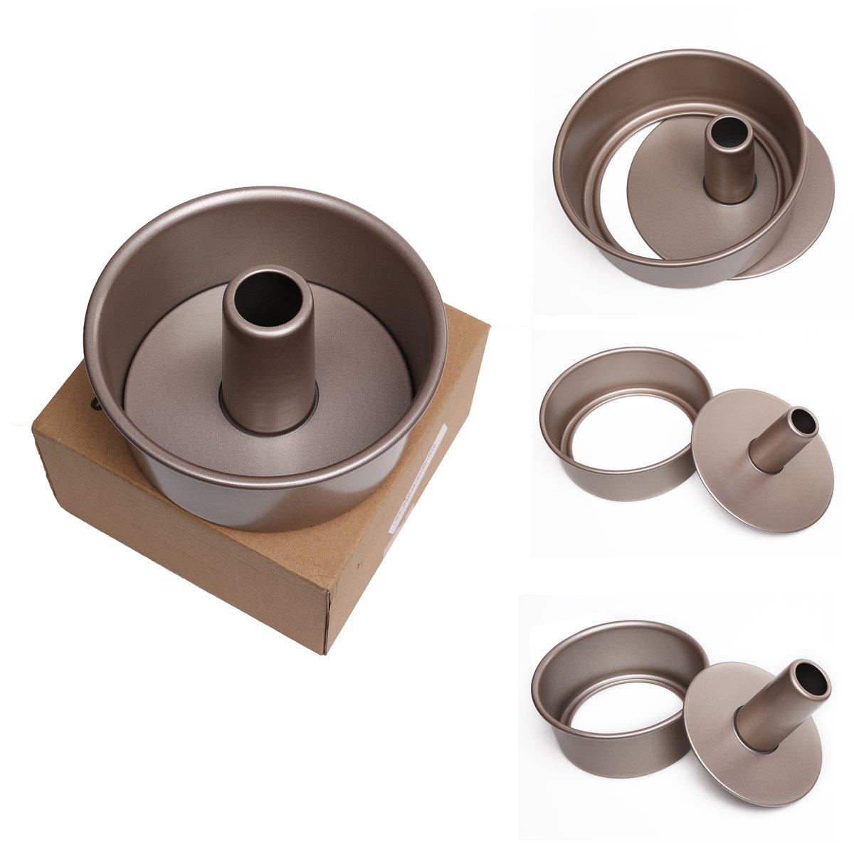 Cake Pan, SENREAL Round Food Cake Pan Tin Mold Baking Tray Carbon Steel Non Stick Bakeware Tool