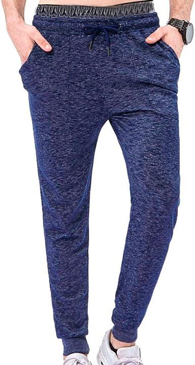 Hombre Pantalón Chándal para Hombre Jogger Running Pantalones ...