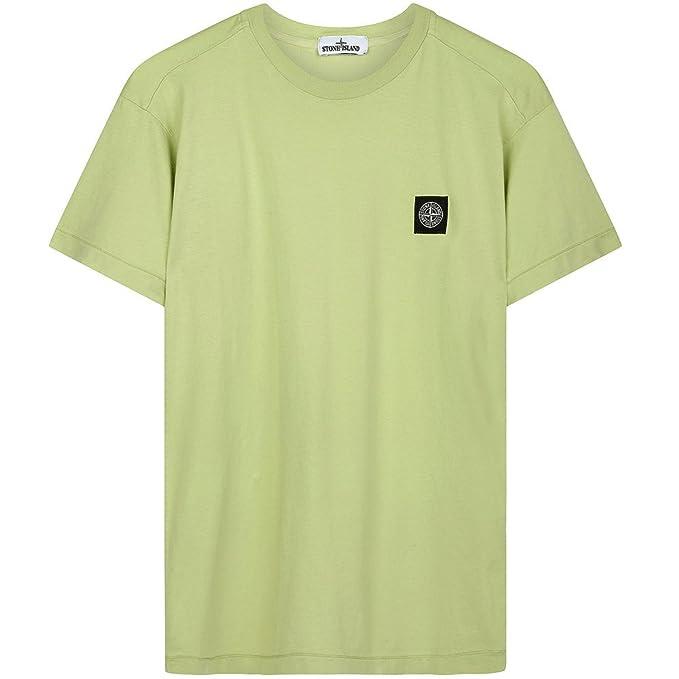 Stone Island - Camiseta - Manga corta - para hombre verde verde X ...