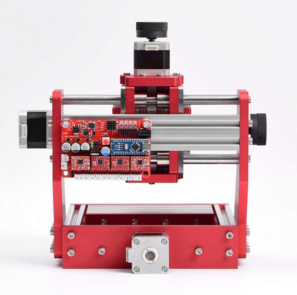 machine en bois de carte PCB de PVC de cuivre en aluminium fraiseuse de bureau DIY Kacsoo Routeur de d/écoupeuse de gravure en m/étal de commande num/érique par ordinateur 1419