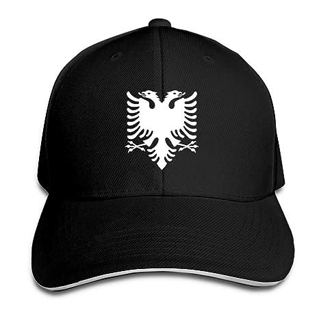 WFIRE Adult Baseball Caps Albanian Eagle Custom Adjustable Sandwich Cap Casquette Hats