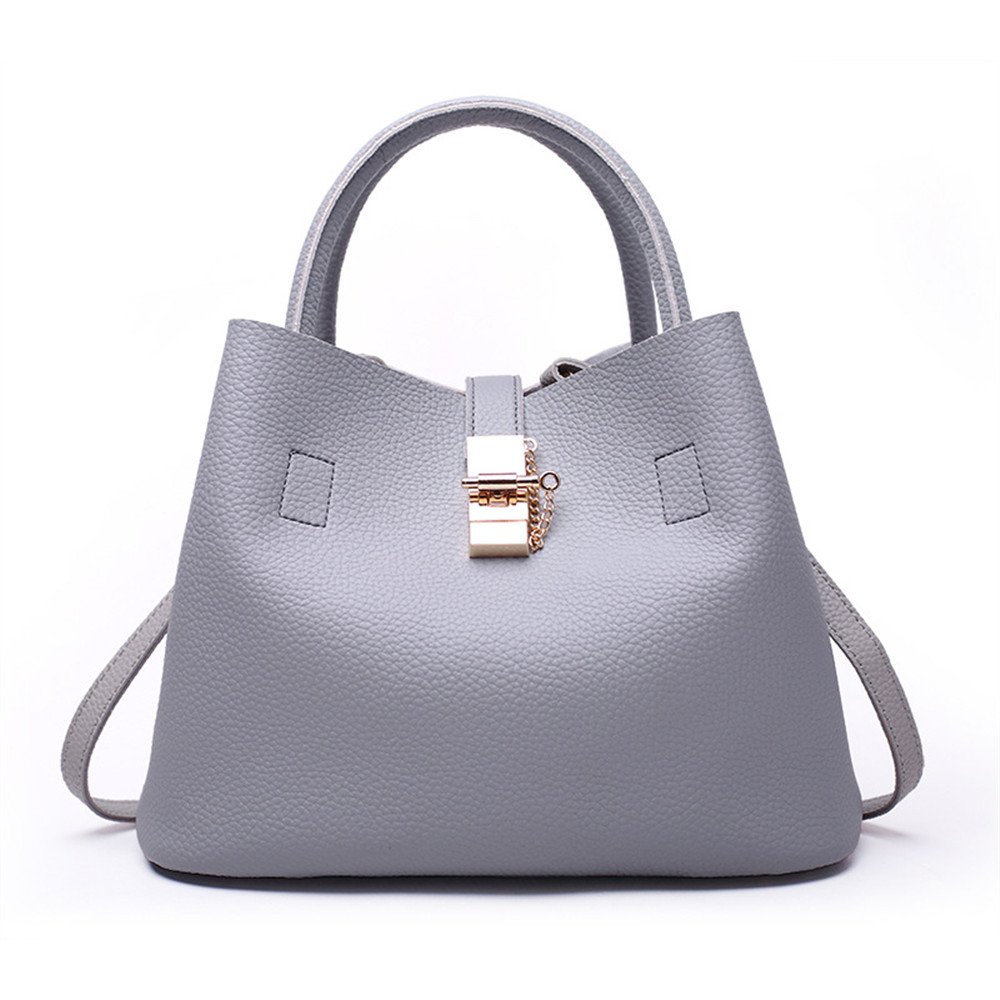 Color : Gray Amyannie Leisure Waterproof Large Space Shoulder Messenger Bag