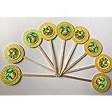 8 Dinosaur Train Cupcake Toppers Picks Birthday Party favors Cake Desserts  Decorations Boys Girls