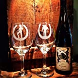 Cowboy and Cowgirl Wine glasses, Western wedding, Western decor, Cowgirl wine glass, Cowboy, Western home decor, Cowboy wedding, Horseshoe, Bride and Groom,