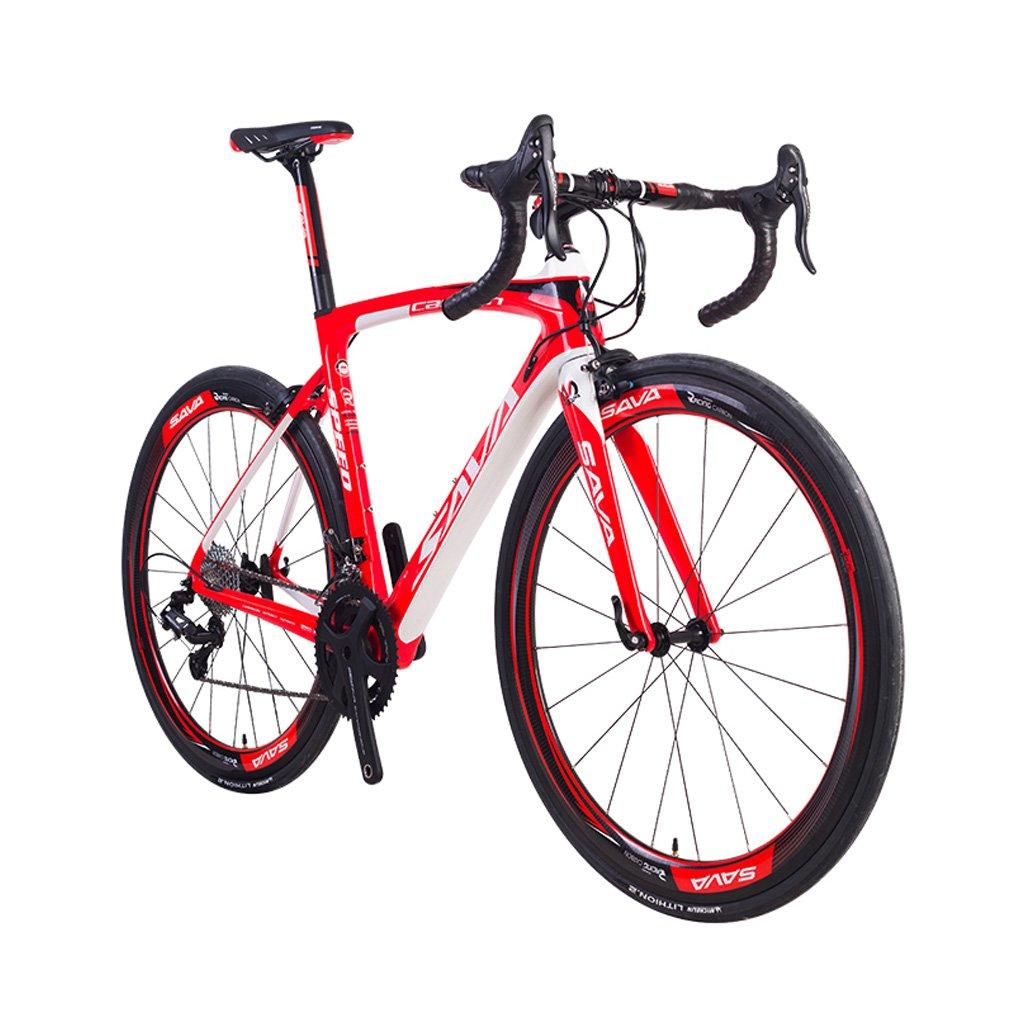 SAVADECK Herd 9.0 700C Bicicleta de Carretera con Bici de Fibra de Carbono con Campagnolo Centaur 22 Speed Groupset y Fizik Saddle: Amazon.es: Deportes y ...