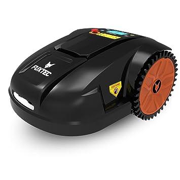 Fuxtec Robot cortacésped FX de perros batería Cortacésped Ideal para cortar de superficies hasta 1500 m²