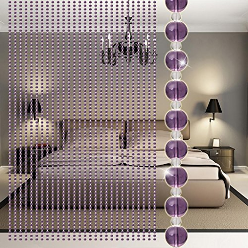 Bead Curtain ,Elaco Crystal Glass Luxury Living Room Bedroom