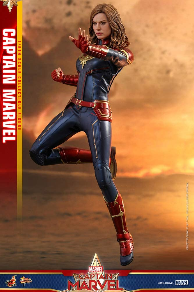 Figura Capitana Marvel 29 cm. Movie Masterpiece. Con luz. Escala 1 ...