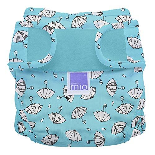 Bambino Mio, Miosoft Cloth Diaper Cover, Rainy Days, Size 2 (21lbs+)