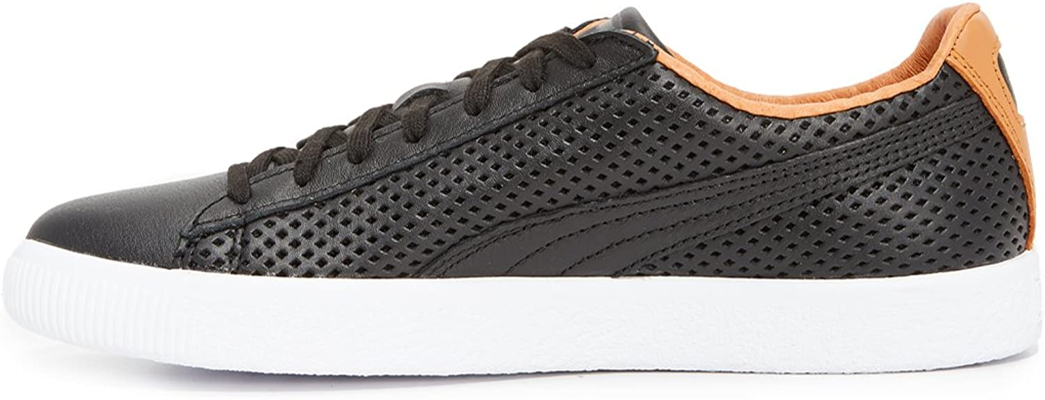 PUMA Select Mens Clyde Colorblock Leather Sneakers