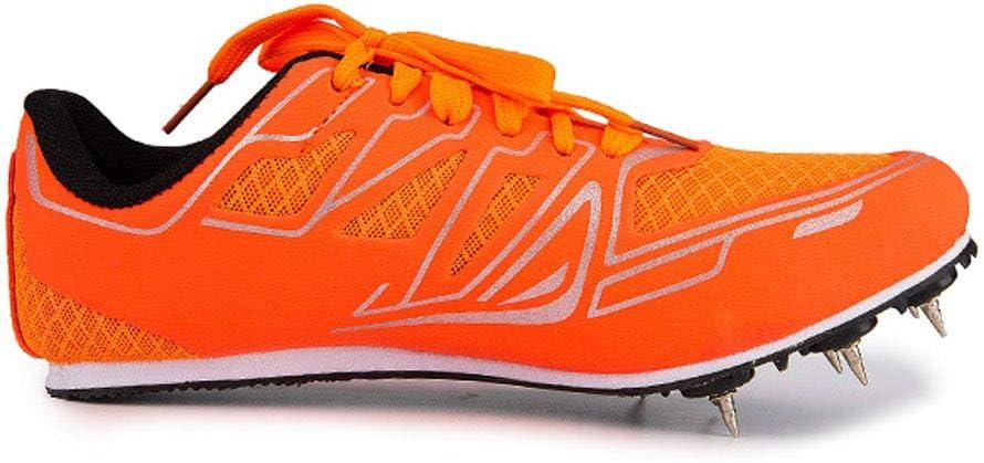 YPPDSD Pistas de Atletismo, Zapatillas de Running Medianas y Cortas para Hombres y Mujeres Competencia de Atletismo al Aire Libre Zapatillas Deportivas Profesionales para uñas,Naranja,34: Amazon.es: Hogar
