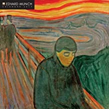 Edvard Munch 2017 Square 12x12 Wall Calendar