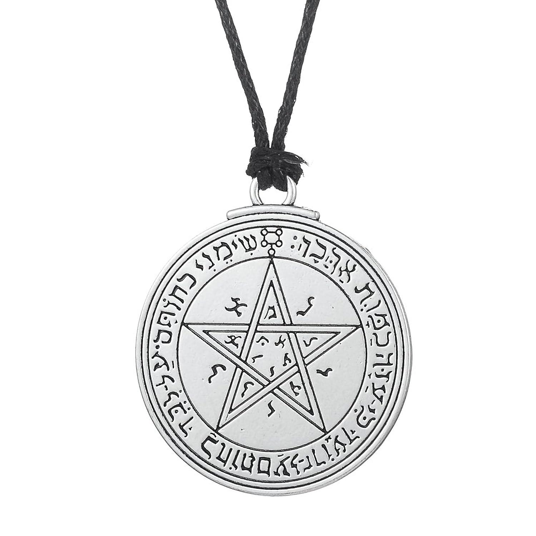Wicca, ajustable Collar con Talisman clave de Salomón de Venus puntas de, Fashion joyas de amor