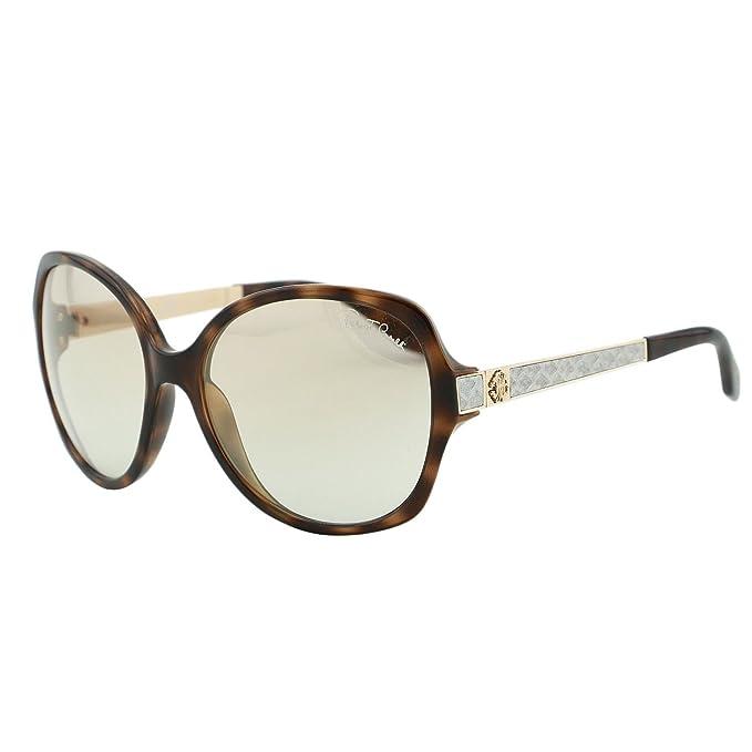 Amazon.com: Roberto Cavalli Mujer Ovalado anteojos de sol ...