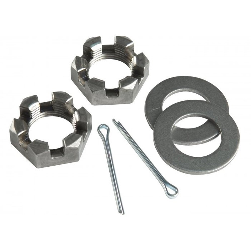 CE Smith Trailer Nut 1' Washers & Cotter Pins Spindle CE Smith Company 11065A