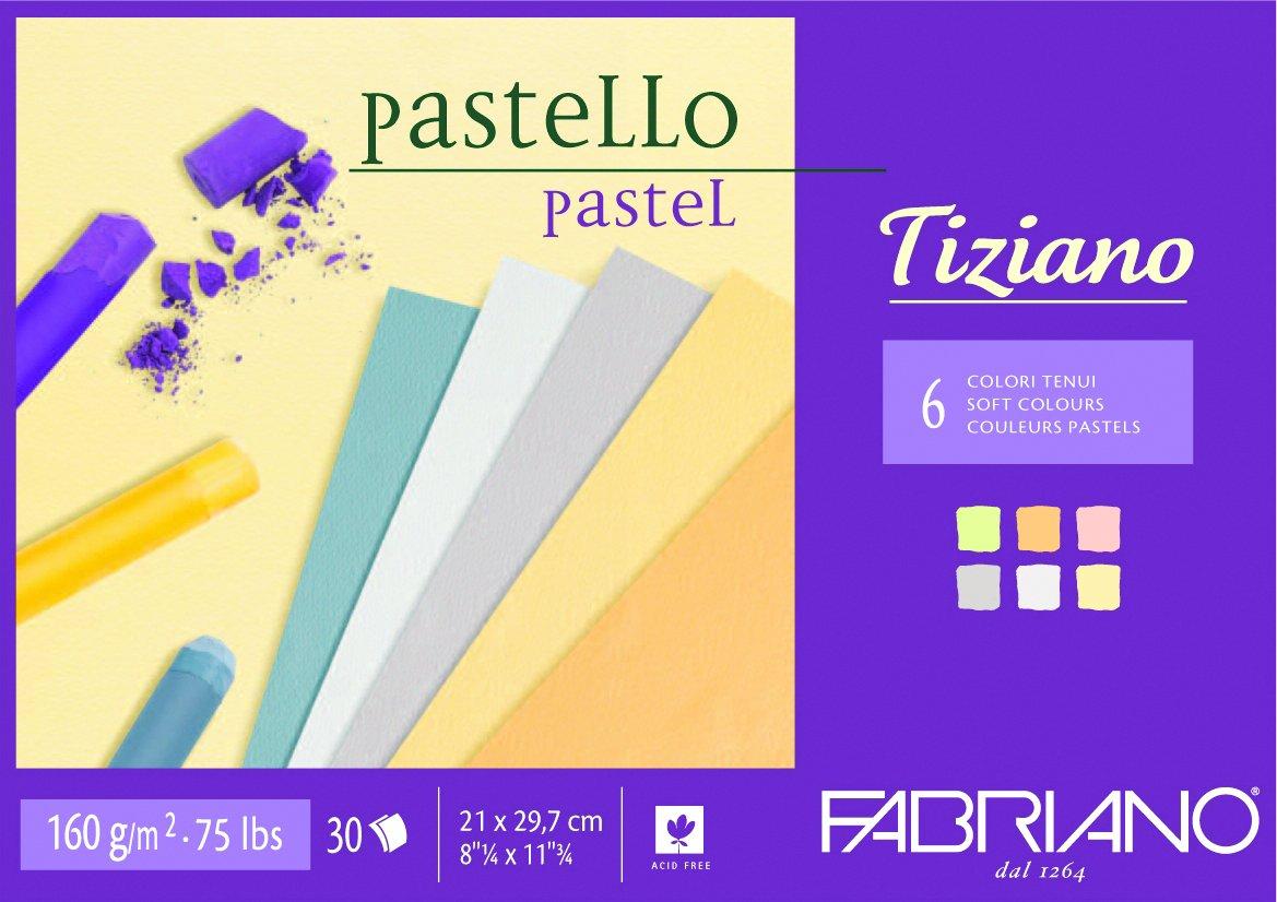 Fabriano Tiziano Charcoal Pad Soft 8.25X11.75 46021297