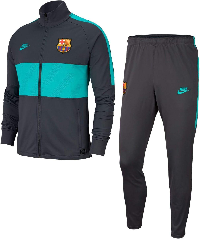 NIKE FC Barcelona Strike Chándal, Hombre: Amazon.es: Deportes y ...