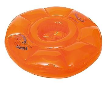 Flipper SwimSafe 1040 - Asiento de Natación para Bebés con Cámaras de Aire 3, Naranja 12 Meses,: Amazon.es: Juguetes y juegos