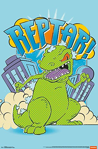Trends International Reptar Wall Poster 22.375