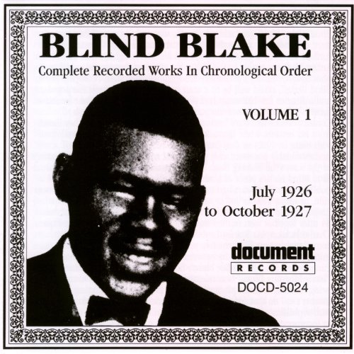 Blind Blake 1926 30 Bootleg Rum Dum Blues