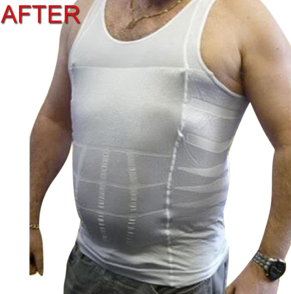 TOPTIE Maglia Compressione Uomo T Shirt Maniche Corte Asciugatura Rapida Maglia da Sport per Fitness Corsa