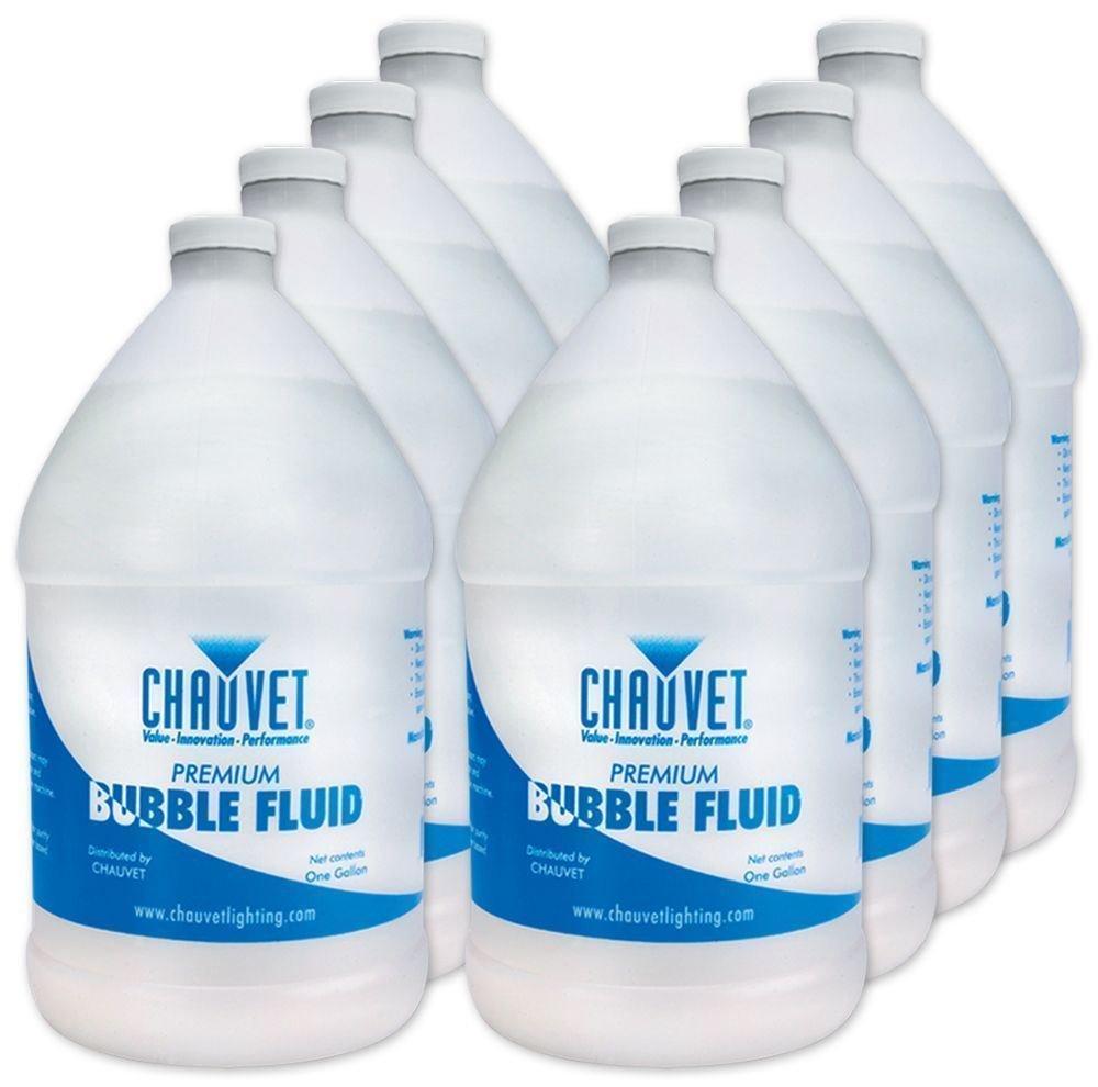 (8) Chauvet BJU (8) Gallons Bubble Juice Fluid BJ-U by Chauvet