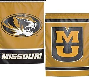 WinCraft NCAA University of Missouri Mizzou Tigers 12x18 Inch 2-Sided Outdoor Garden Flag