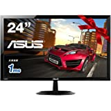 ASUS ゲーミングモニター24型フルHDディスプレイ ( フリッカーフリー / 1,920x1,080 / HDMI×2,D-sub / スピーカー内蔵 / 3年保証 ) VX248H