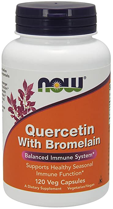 Quercetin is a natural antihistamine withdrawal treatment