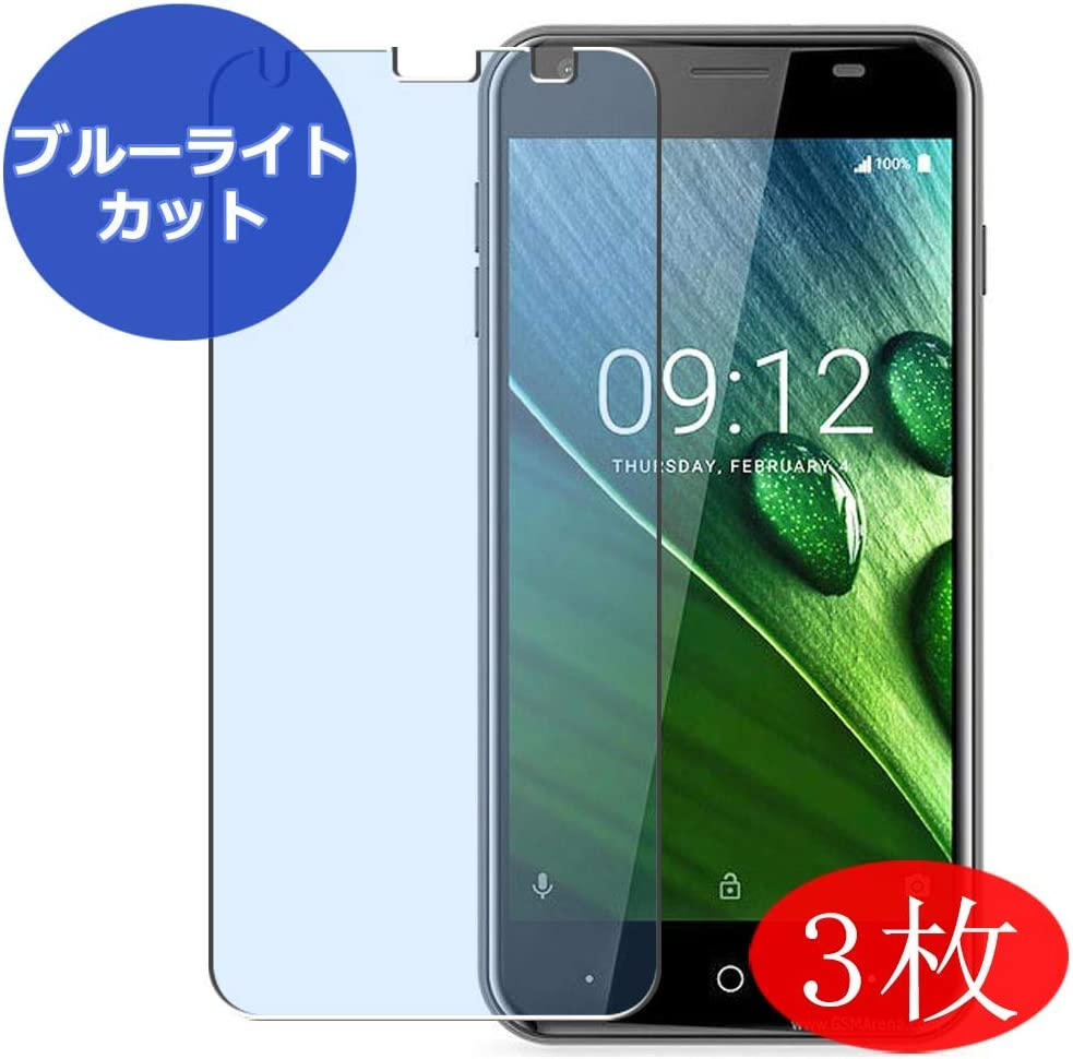 【3 Pack】 Synvy Anti Blue Light Screen Protector for Acer Liquid Z6 Screen Film Protective Protectors [Not Tempered Glass]